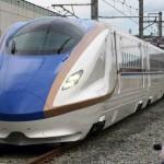 北陸新幹線の新型車両、その名前は「E7系」!!最高速度はどれくらい!?鉄男の皆さんお待たせしましたwww【画像】
