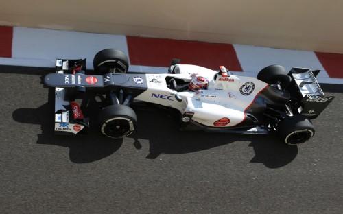 Kamui Kobayashi, Sauber;